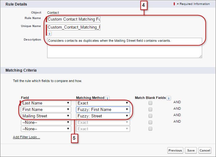 Resolve and Prevent Duplicate Data Unit | Salesforce Trailhead