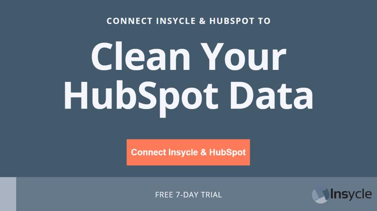 Clean your HubSpot Data
